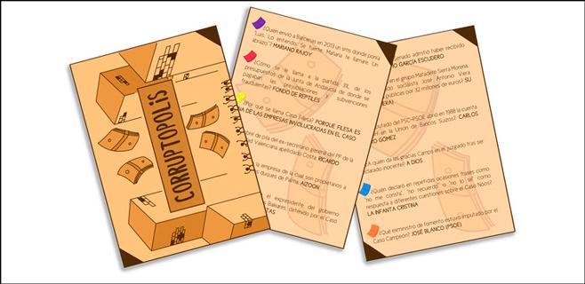 Corruptopolis: El juego de mesa sobre la corrupción
