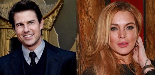 Tom Cruise y Lindsay Lohan, nueva pareja en Hollywood