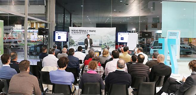 Dibauto presenta el nuevo Renault Trafic en Palma