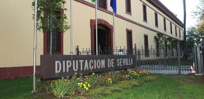 La Guardia Civil registra la Diputación de Sevilla