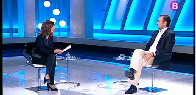 105.000 personas vieron la entrevista a Bauzá en IB3