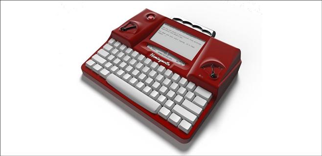 Vuelve la máquina de escribir para la era digital