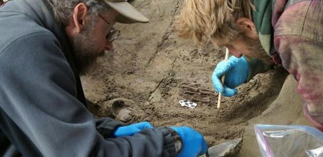 Hallados restos de niños de la Edad del Hielo