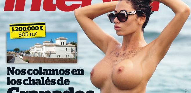 La supuesta novia de Neymar se desnuda para Interviú