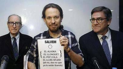 Pablo Iglesias se apunta al 'Salvem...'