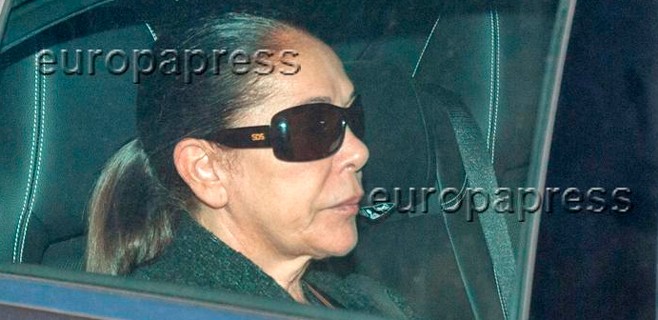 Isabel Pantoja ya está en la cárcel