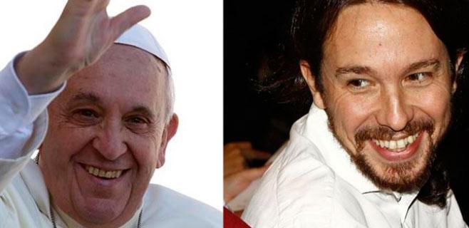 Pablo Iglesias al Papa:
