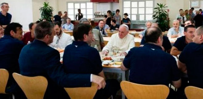 El Papa habilitará duchas para personas sin hogar