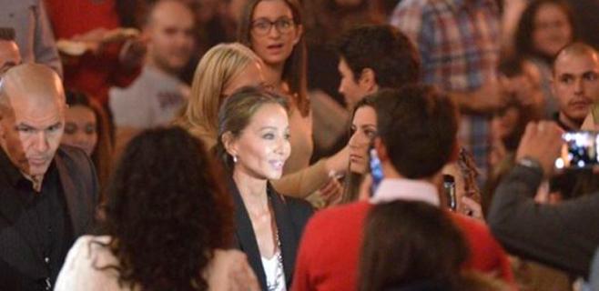 Isabel Preysler brilla en el concierto de su hijo Enrique