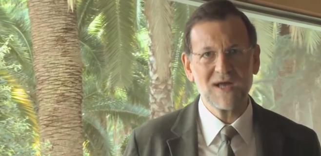 Rajoy anima a votar el 9N