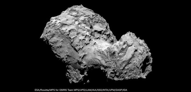 La sonda Philae aterriza con éxito en el cometa 67P