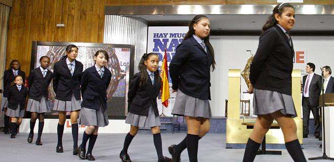 Los niños de San Ildefonso ya ensayan para dar El Gordo