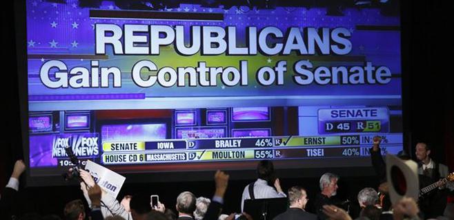 Los republicanos se hacen con el control del Senado