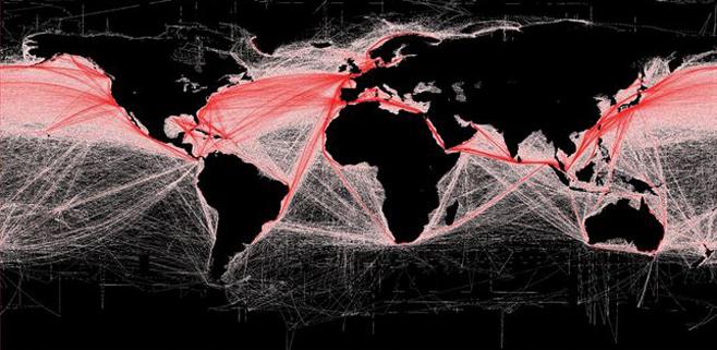 El tráfico marítimo se ha multiplicado por cuatro