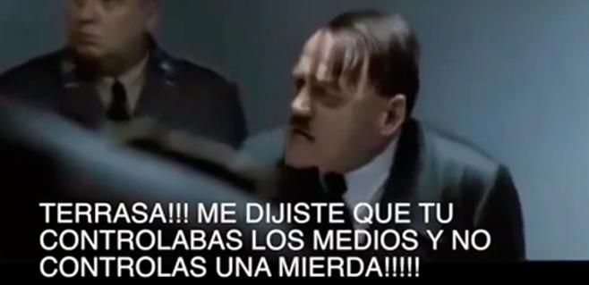 El Führer-Claassen echa la bronca a Terrasa y Cerdá