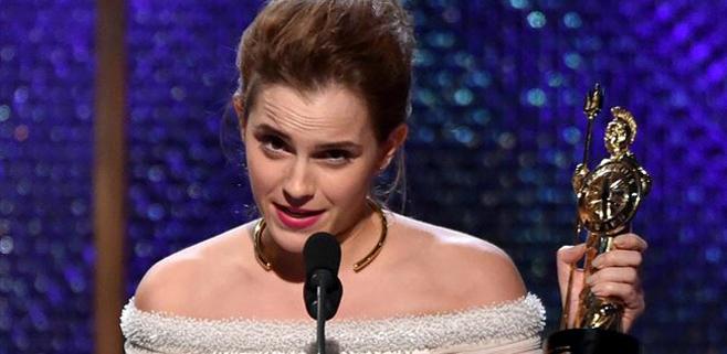Emma Watson le dedica el Bafta a su hamster muerto