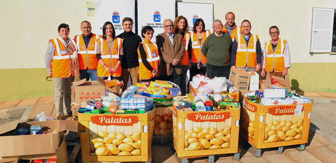 Calvià recoge 3 toneladas de alimentos para Cáritas