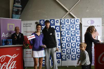 La pareja Monroig-Solano se lleva el título sin perder un set