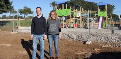 Un nuevo parque infantil en Cala d'Or