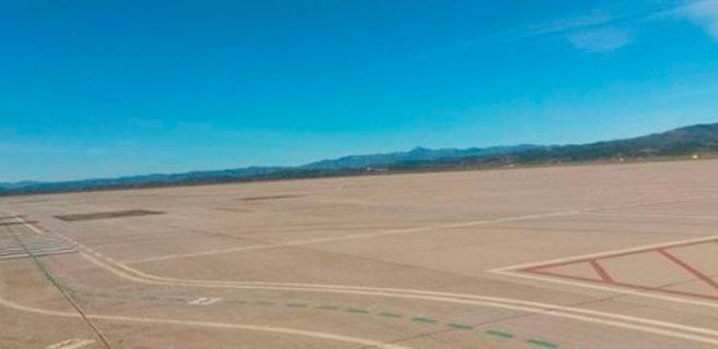 El aeropuerto de Castellón, a punto de recibir su primer vuelo