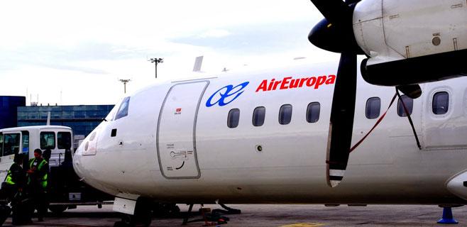 Air Europa cuenta ya con 10.000 reservas de los vuelos interislas