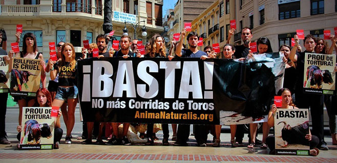 Recogidas más de 70.000 firmas contra la tauromaquia en Mallorca en 2014