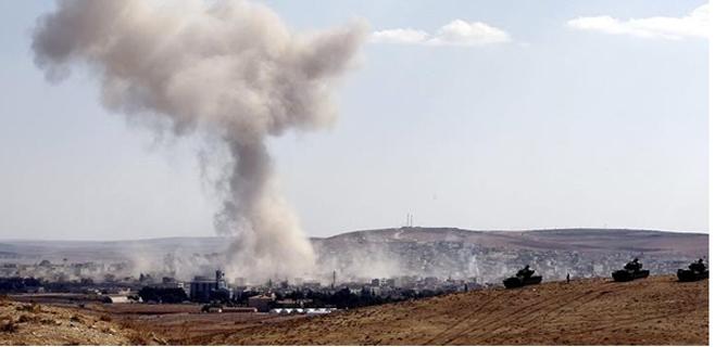 Estado islámico reivindica el derribo de un avión en Siria