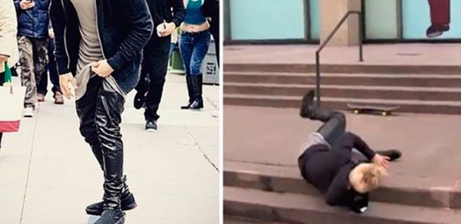 Justin Bieber hace el ridículo ante sus fans