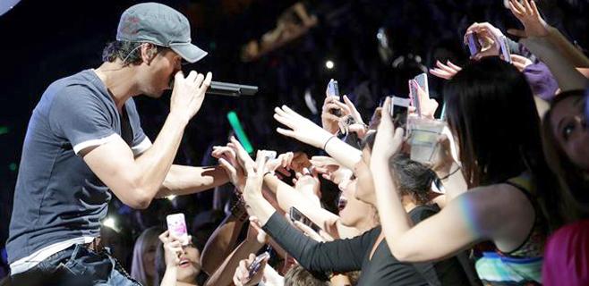 Enrique Iglesias es el artista más escuchado en España en 2014