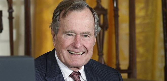 Hospitalizado el expresidente George Bush senior