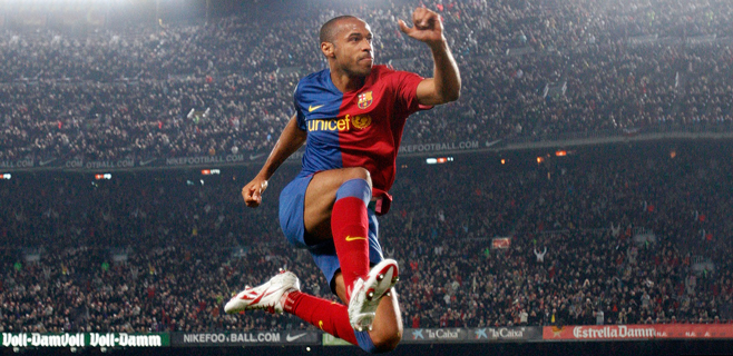 Thierry  Henry anuncia su retirada