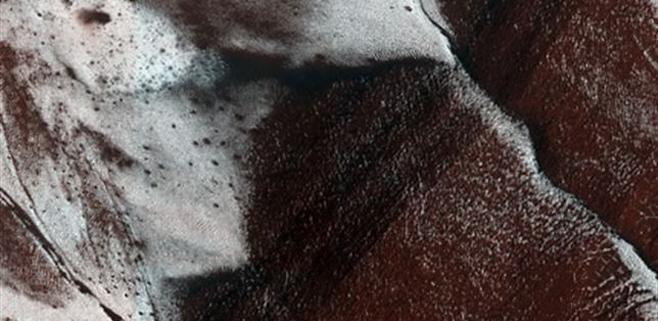 Blanca Navidad en Marte