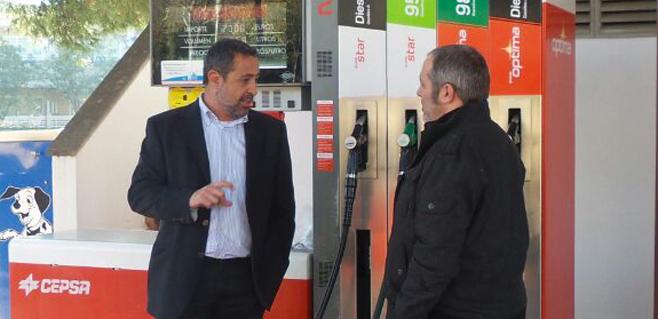 Fin al descenso del precio de los carburantes