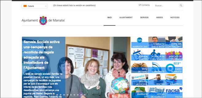 Marratxí estrena nueva web