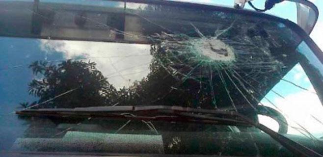 Identificados cinco menores por los lanzamientos de piedras a la autopista