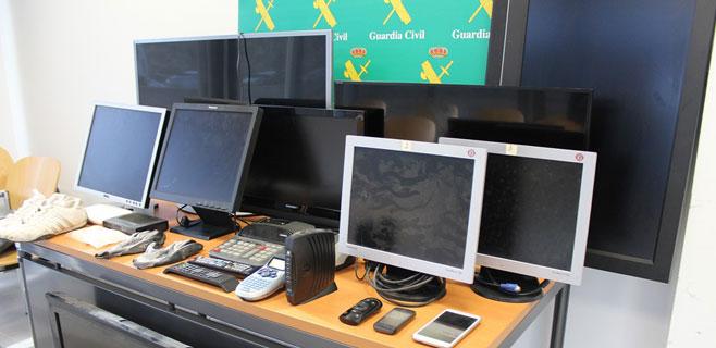 Detenido por robar más de 50 televisores en hoteles de Palmanova