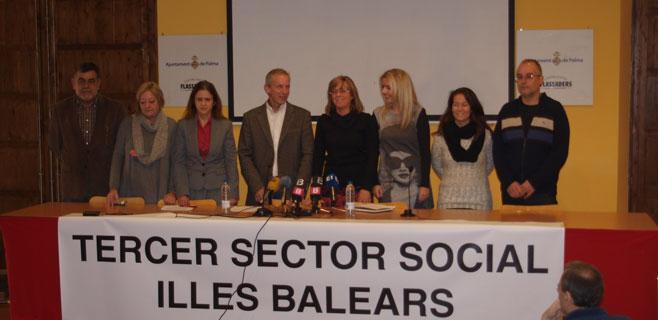 El Tercer Sector cifra en 120.000 los baleares que necesitan atención social
