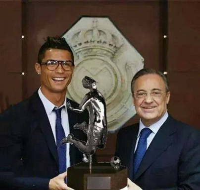 Un nuevo trofeo para Cristiano Ronaldo
