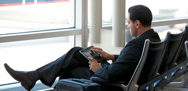 El WiFi gratuito en los aeropuertos de las islas se dispara en el último año