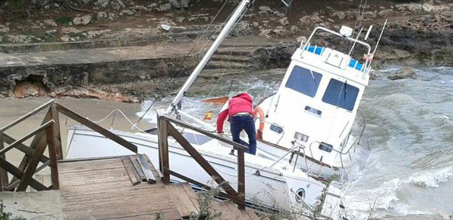 Alerta en el sur de Mallorca por riesgo importante de fuerte viento y mala mar
