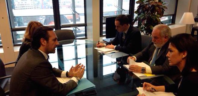 Bauzá proclama en Bruselas la negativa de Balears a los sondeos petrolíferos