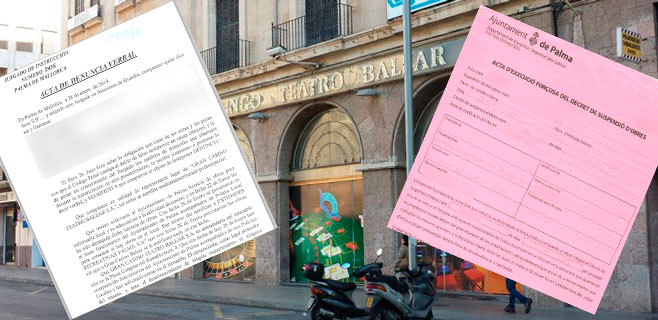 Casino Teatre Balear denuncia que la policía local entró sin orden judicial
