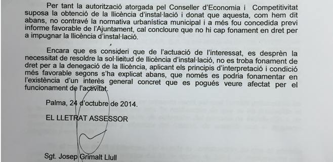La gerencia de Urbanismo encargó informes a medida contra el Casino