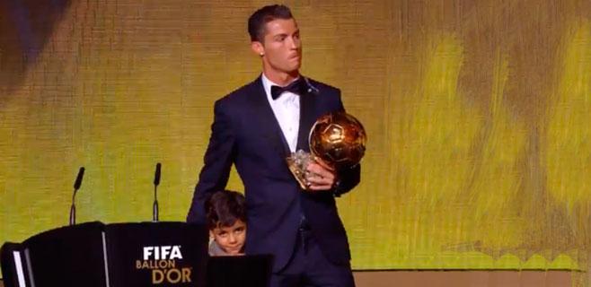 Cristiano Ronaldo se queda el Balón de Oro