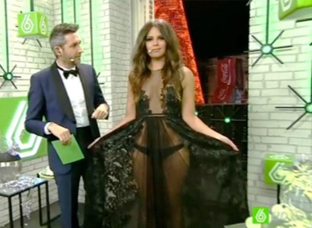 ¿Qué presentadora fue la mejor vestida en la retransmisión de las campanadas?