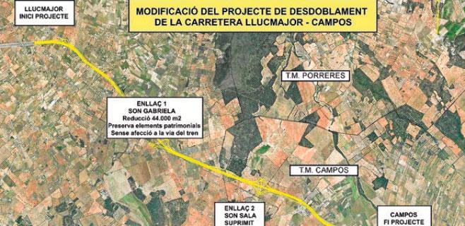 La vía Llucmajor-Campos destruye la Cova de Can Verdera según el GOB