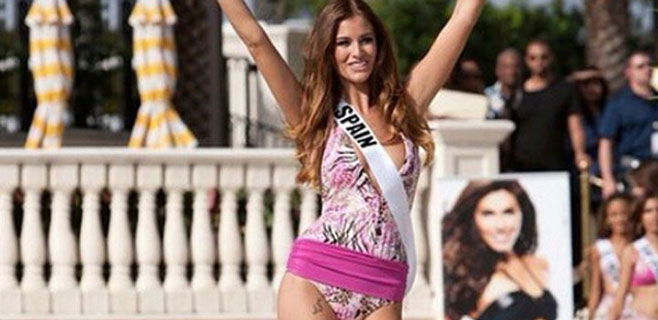 Desiré Cordero, la Miss Universo española con la suerte tatuada
