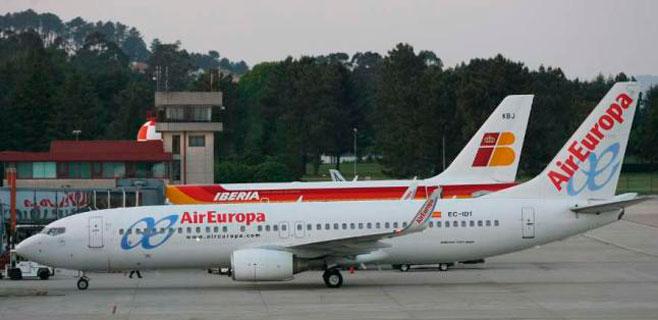 Iberia y Air Europa fueron las aerolíneas más puntuales del mundo en diciembre
