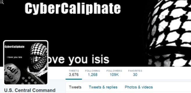 Hackers del Estado Islámico atacan el Twitter del Pentágono