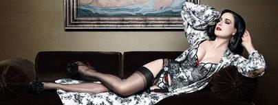 'XXXtian', lencería de lujo diseñada por Christian Louboutin y Dita Von Teese
